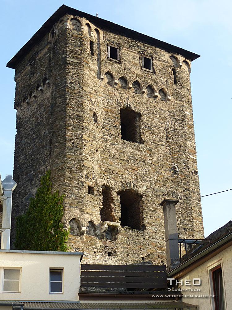 (Ober-) Weseler Torturm in Kaub